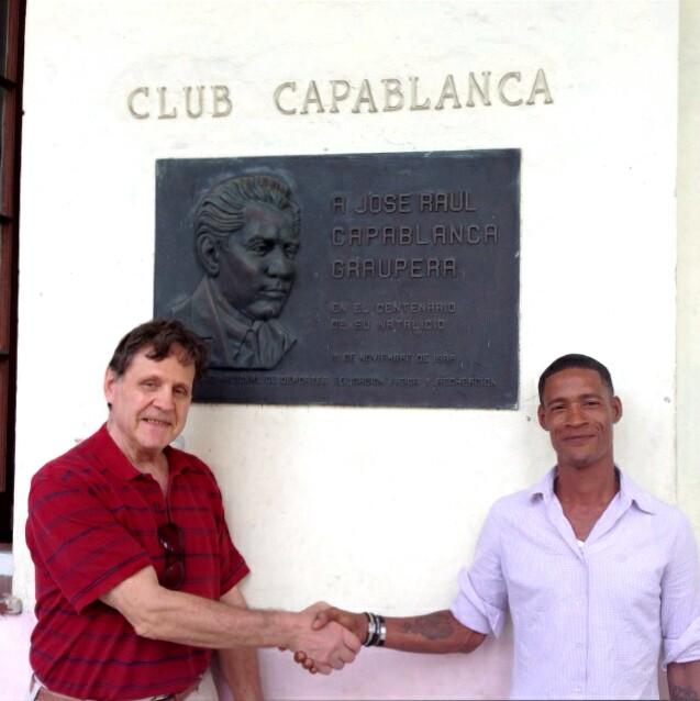 Capablanca Chess Club, Havana Cuba Dec. 30, 2013