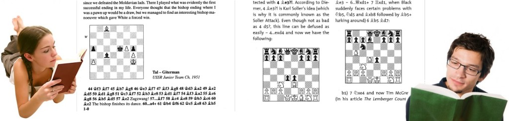 reading chess books