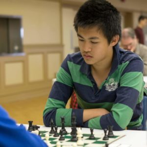 William Li, playing in the 2015 Aurora Summer Open